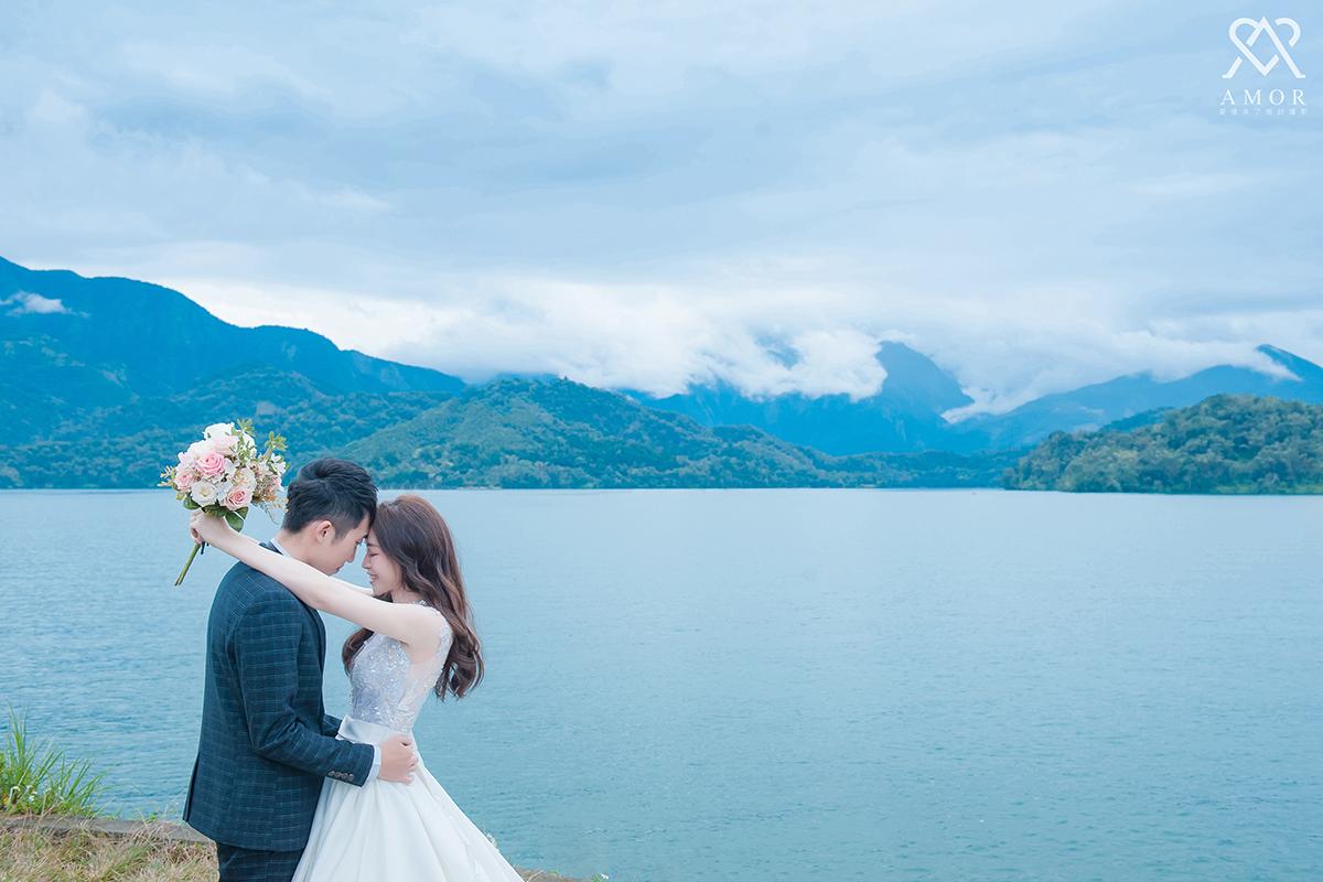 中部,外拍,景點,推薦,南投,日月潭, 湖水,山景,自然,浪漫,唯美,拍攝點,台中婚紗,AMOR,愛情來了,台中婚紗拍攝,婚紗照,自主婚紗,風格婚紗