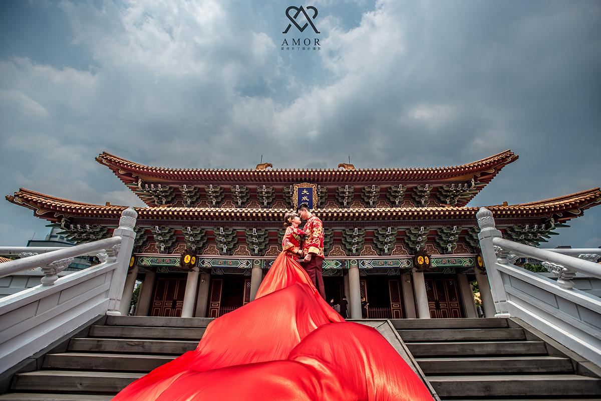 台中孔廟, 孔廟, 中式古典, 中國服, 旗袍, 龍鳳褂,中部,外拍,景點,推薦,拍攝點,台中婚紗,AMOR,愛情來了,台中婚紗拍攝,婚紗照,自主婚紗,風格婚紗,台灣婚紗