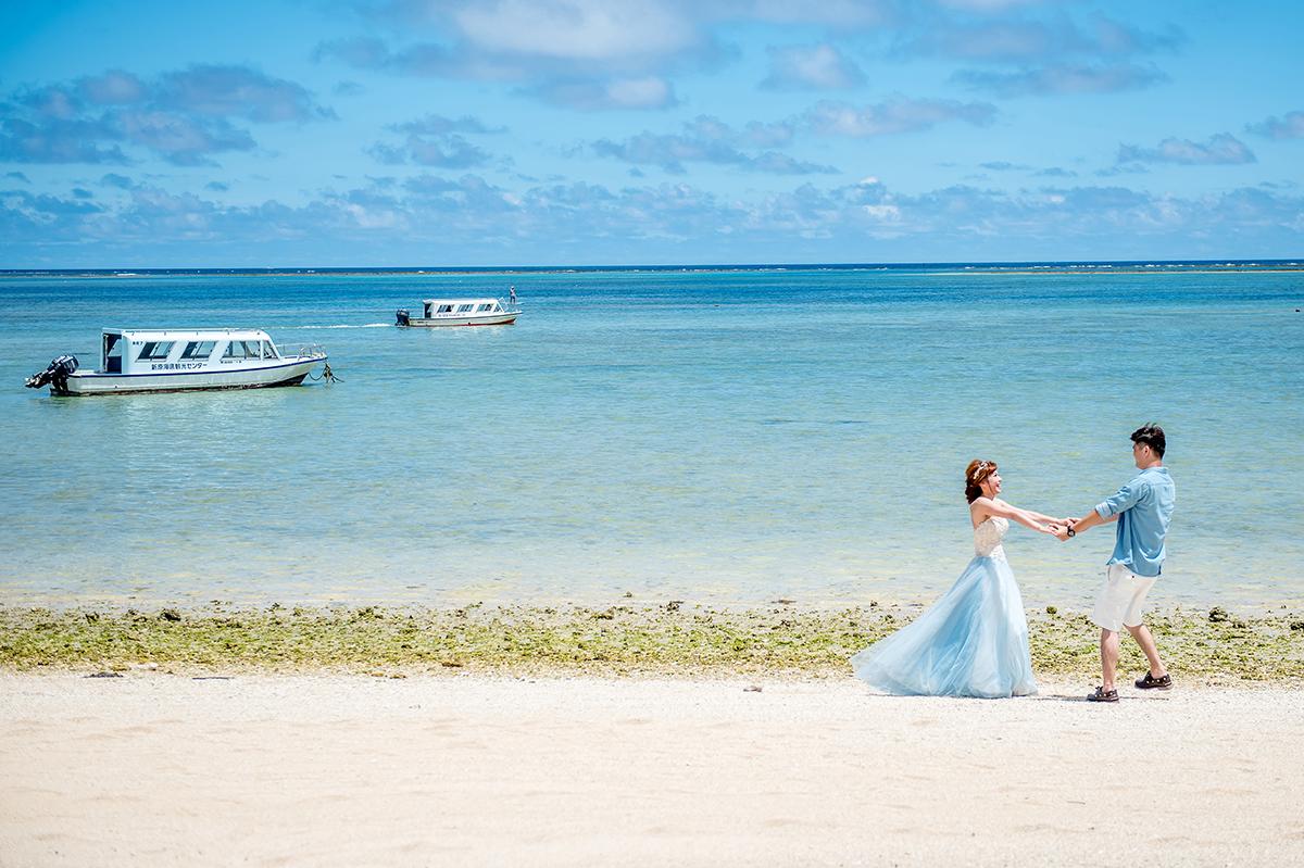 AMOR,愛情來了,日本沖繩,Okinawa,渡假婚紗,海外婚紗,輕旅行