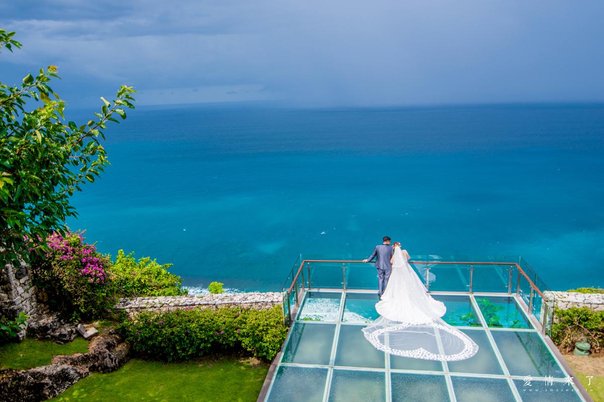海外婚紗 泰國|峇里島 金巴蘭峇厘島婚禮婚紗,Tirtha Uluwatu Chapel 水之教堂,峇厘島港麗飯店